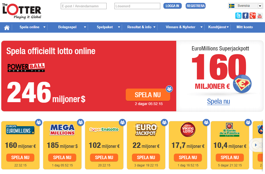 gratis lotto på nätet